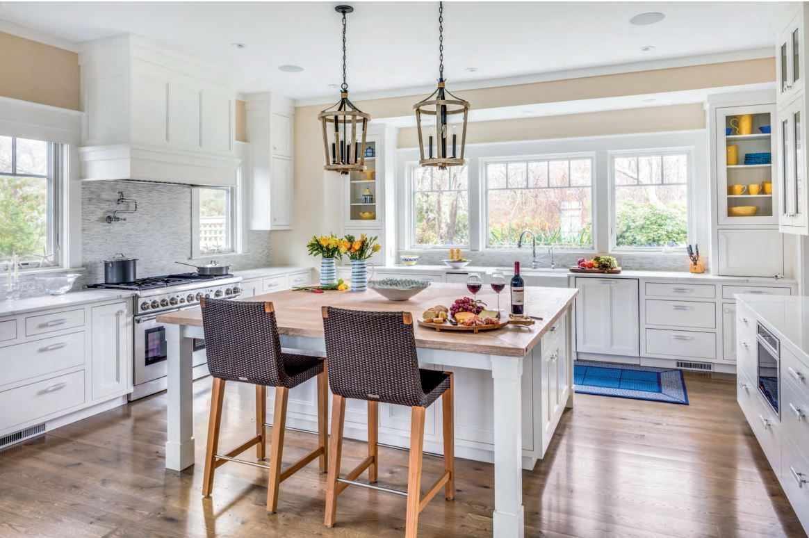 Faneuil Kitchen Cabinet featured in BDG Cape & Islands edition